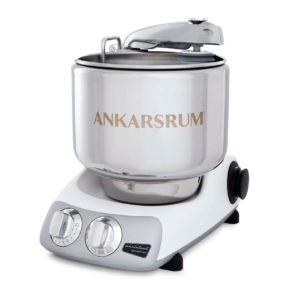 Ankarsrum 6230 con dotazione di base + pacchetto DeLuxe - Mineral White