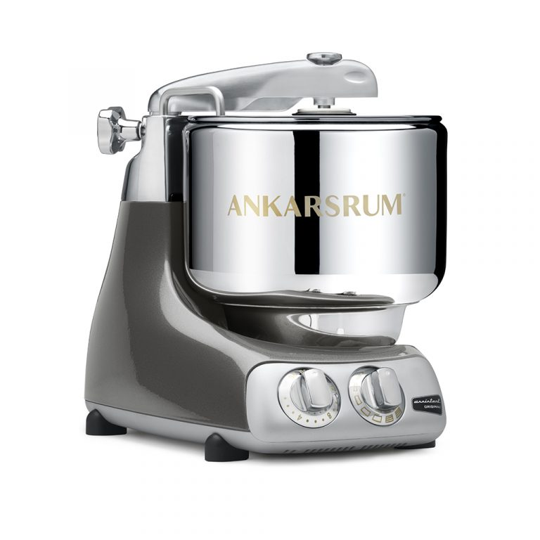 Ankarsrum 6230 con attrezzatura di base - Black Chrome