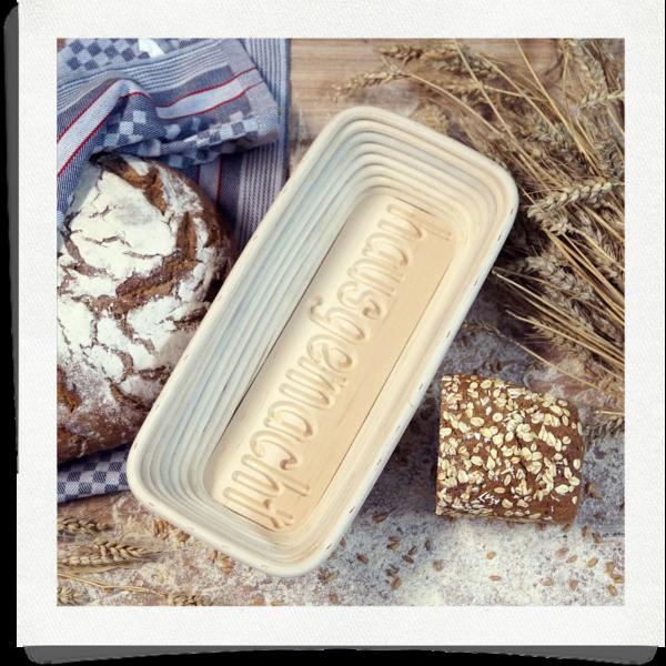 Forma di pane fatto in casa - 1 kg oblungo
