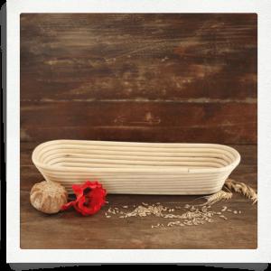 Cestino per lievitazione pane - 1,5 chilo - ovale