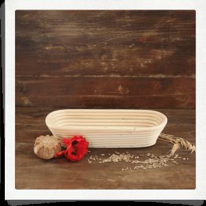 Cestino per lievitazione pane - 1 chilo - ovale