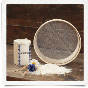 Setaccio per farina, maglia grossa Ø 18 cm