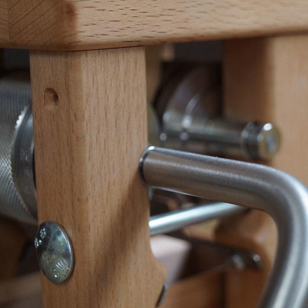 Fioccatrice di Salisburgo con trasmissione a ingranaggi – faggio
