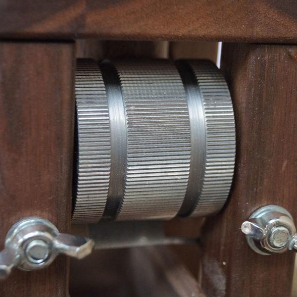 Fioccatrice di Salisburgo con trasmissione a ingranaggi – noce