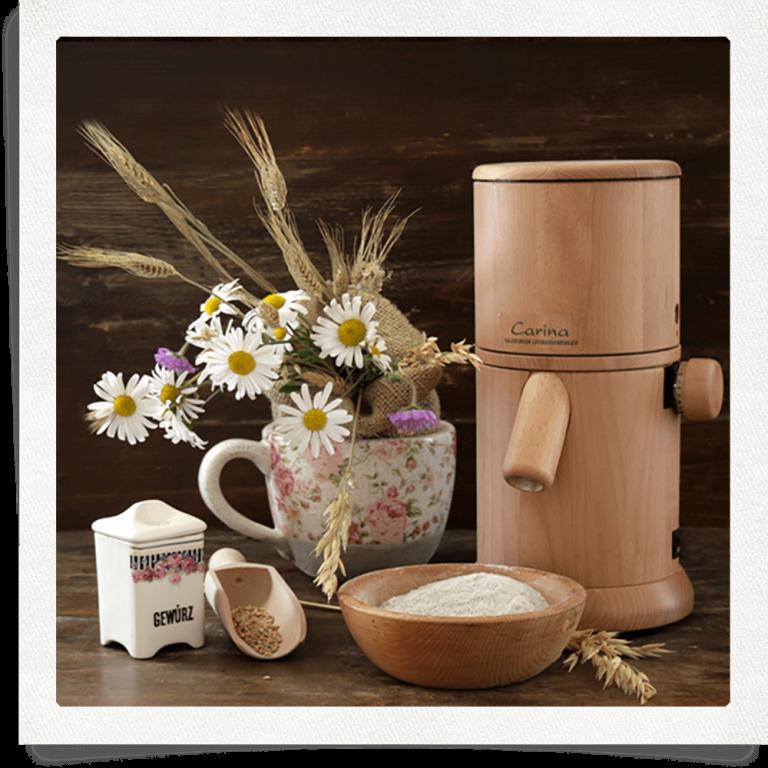 mulino per cereali di Salisburgo Carina in faggio