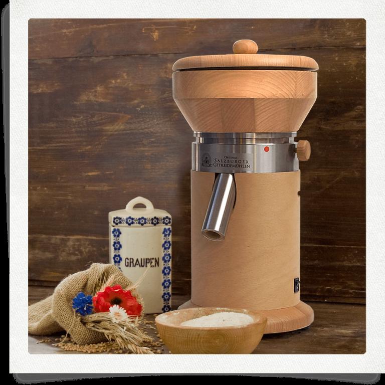Mulino per cereali MT 12 faggio senza plastica*