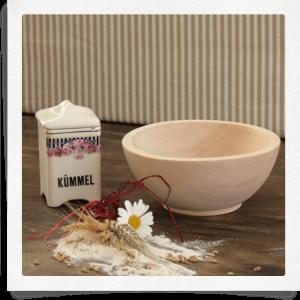 Scodella per muesli di legno cirmolo