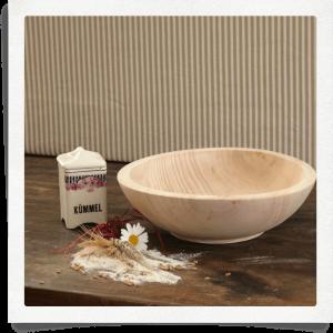 Scodella di legno cirmolo Ø 30 cm