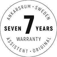 7 years warranty 1