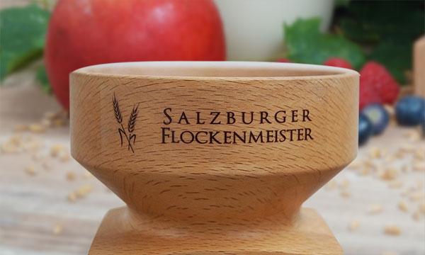 Salzburger Flockenmeister Trichter Logo 600