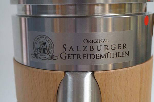 Mulino per cereali di Salisburgo MT 5 ED rovere con filettatura in acciaio inox 002