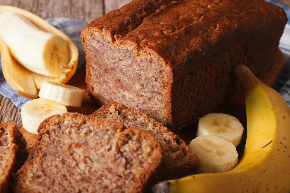 Pane alla banana - soffice e vegano